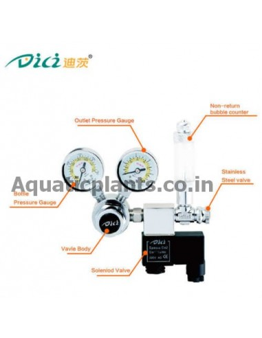dici co2 regulator automatic for sale on online in india at best price with  free shipping